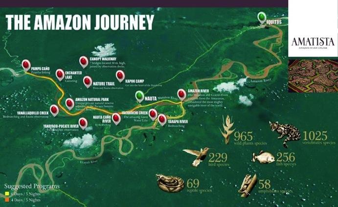 Amazon River Cruises On The La Amatista